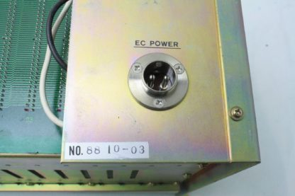 Evac Rack Mount PCB Enclosure 88 10 03 EC Power 14 Slot SIO Tool Connection Used 171302673378 7
