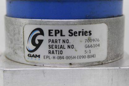 Gam Gear EPL H 084 005H 090 B04 Planetary Servo Gear Reducer 51 Ratio 19mm Used 172264287298 14