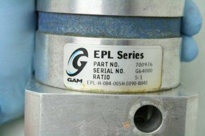 Gam Gear EPL H 084 005H 090 B04 Planetary Servo Gear Reducer 51 Ratio 19mm Used 172264287298 5