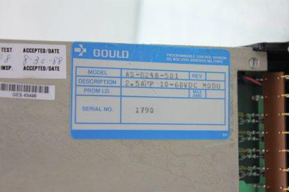 Gould Modicon AS B248 501 Digital Output Module Used 172088852908 6
