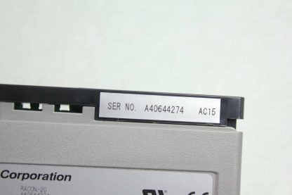 IAI Robo Net RACON 20 Single Axis Robot Linear Actuator Controller Used 182091982615 8
