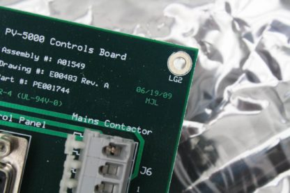 JPSA PV 5000 Laser Scribe Control Board UL 94V 0 Used 171419866298 5