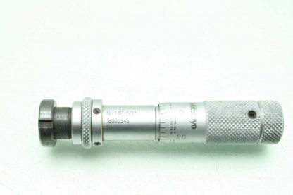 Mitutoyo 148 502 Micrometer Head 0 05 Range 0001 Graduation Used 172889117058 16