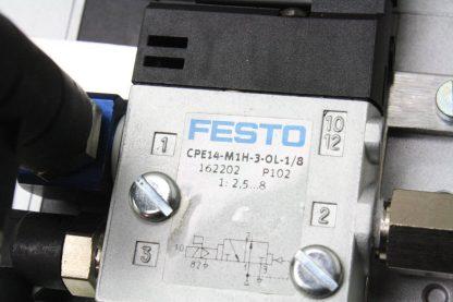 New Festo 4 Slot Manifold CPE14 M1H 3 OL 18 Pneumatic Solenoid Valves CPV 14 VI New 171271397818 15