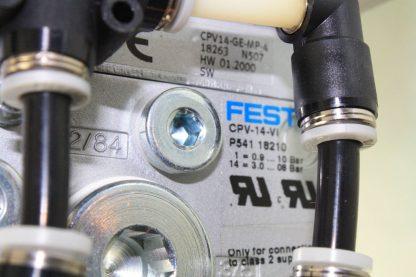 New Festo 4 Slot Manifold CPE14 M1H 3 OL 18 Pneumatic Solenoid Valves CPV 14 VI New 171271397818 16