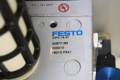 New Festo 4 Slot Manifold CPE14 M1H 3 OL 18 Pneumatic Solenoid Valves CPV 14 VI New 171271397818 21