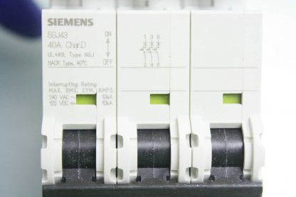 New Siemens 5SJ4 340 8HG41 Circuit Breaker 3 Pole 40A 240V AC New other see details 171866224437 8
