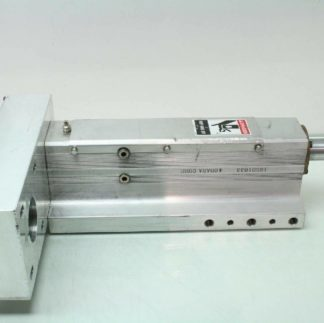 Obara 105D0218L Electric Cylinder Welding Positioner Ball Screw Actuator 160mm Used 171747181408