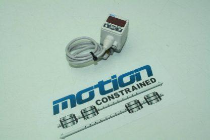 SMC Pneumatic ZSE40 M5 22L High Precision Digital Vacuum Pressure Switch Used 172853428058