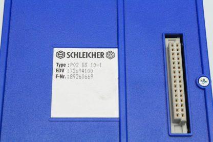 Schleicher P02 GS 10 1 Logic Controller IO Rack Used 171328751208 6