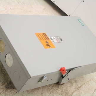 Siemens HNF365 Safety Disconnect Switch 400A Indoor 3 Pole 600V Non Fusible Used 182517264798