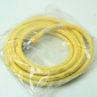 Turck WSM WKM 5711 3M 5 Pin M14 Cable Assembly XYRATEX EXT PWR New 171713239398