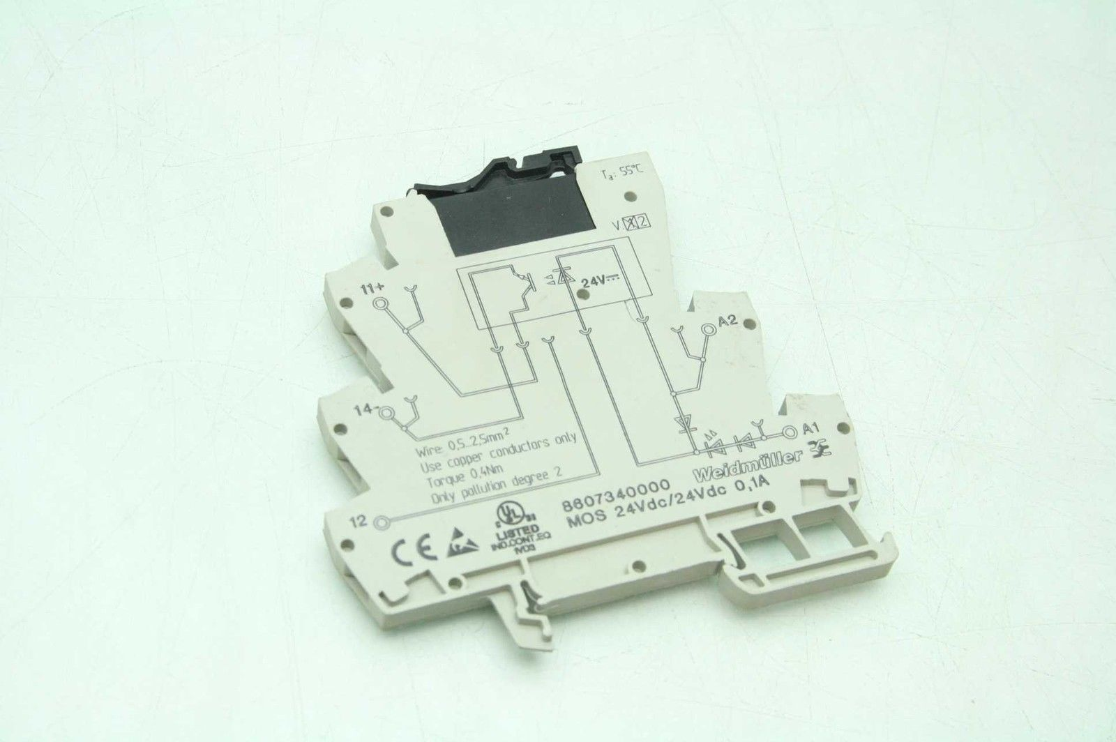 Weidmuller Mos 24vdc Socket 2 Tyco V23109 S2421 D001 48v Solid The Professional State Relay Used Motion Constrained Surplus