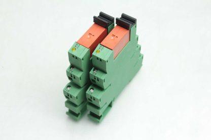 2 Phoenix Contact PLC BSC 24DC21 21 PLC Relay Module Tyco RTE24024 Used 172662068879