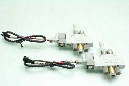 2 SMC SY3120 6LZ C6 F2 Solenoid Valves Used 172887495689 16