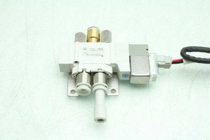 2 SMC SY3120 6LZ C6 F2 Solenoid Valves Used 172887495689 18