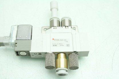 2 SMC SY3120 6LZ C6 F2 Solenoid Valves Used 172887495689 2