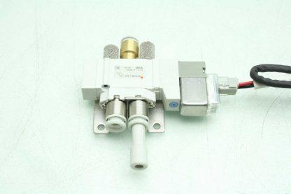 2 SMC SY3120 6LZ C6 F2 Solenoid Valves Used 172887495689 3