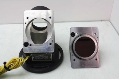 3 Diameter Front Surface Laser Mirror in Right Angle Aluminum Enclosure Used 182026384783 9