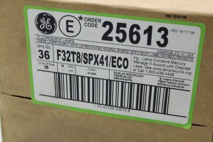 36 New General Electric F32T8SPX41ECO Replacement Bulbs New 183443126689 4