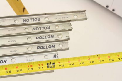 6 Rollon ULC28 Cam Guided ULC Compact Rail 28mm Slider Type 1800mm Long Used 171491781849 13