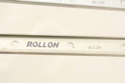 6 Rollon ULC28 Cam Guided ULC Compact Rail 28mm Slider Type 1800mm Long Used 171491781849 7