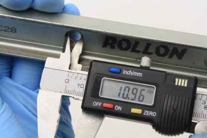 6 Rollon ULC28 Cam Guided ULC Compact Rail 28mm Slider Type 1800mm Long Used 171491781849 9