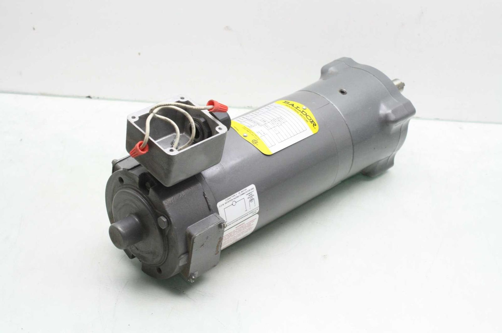 Baldor 33 2328z148g1k1 Industrial Motor 1 2 Hp Cat Gpp3348 Motors Out Of Stock
