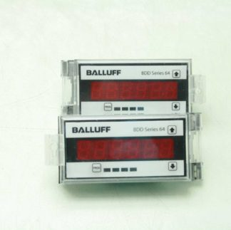 Balluff BDD 640 R3A 0 00 E 00 Programmable Meter for Analog SensorsTransducers Used 183114940649