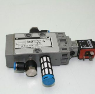 Bosch Pneumatic Valve Solenoid Coil Rexroth 0820018103 Used 172199789429