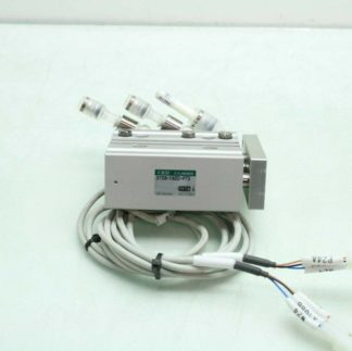 CKD STSB 1620 P73 Pneumatic Guided Air Cylinder T2H Limit Switches 16mm x 20mm Used 172568745389