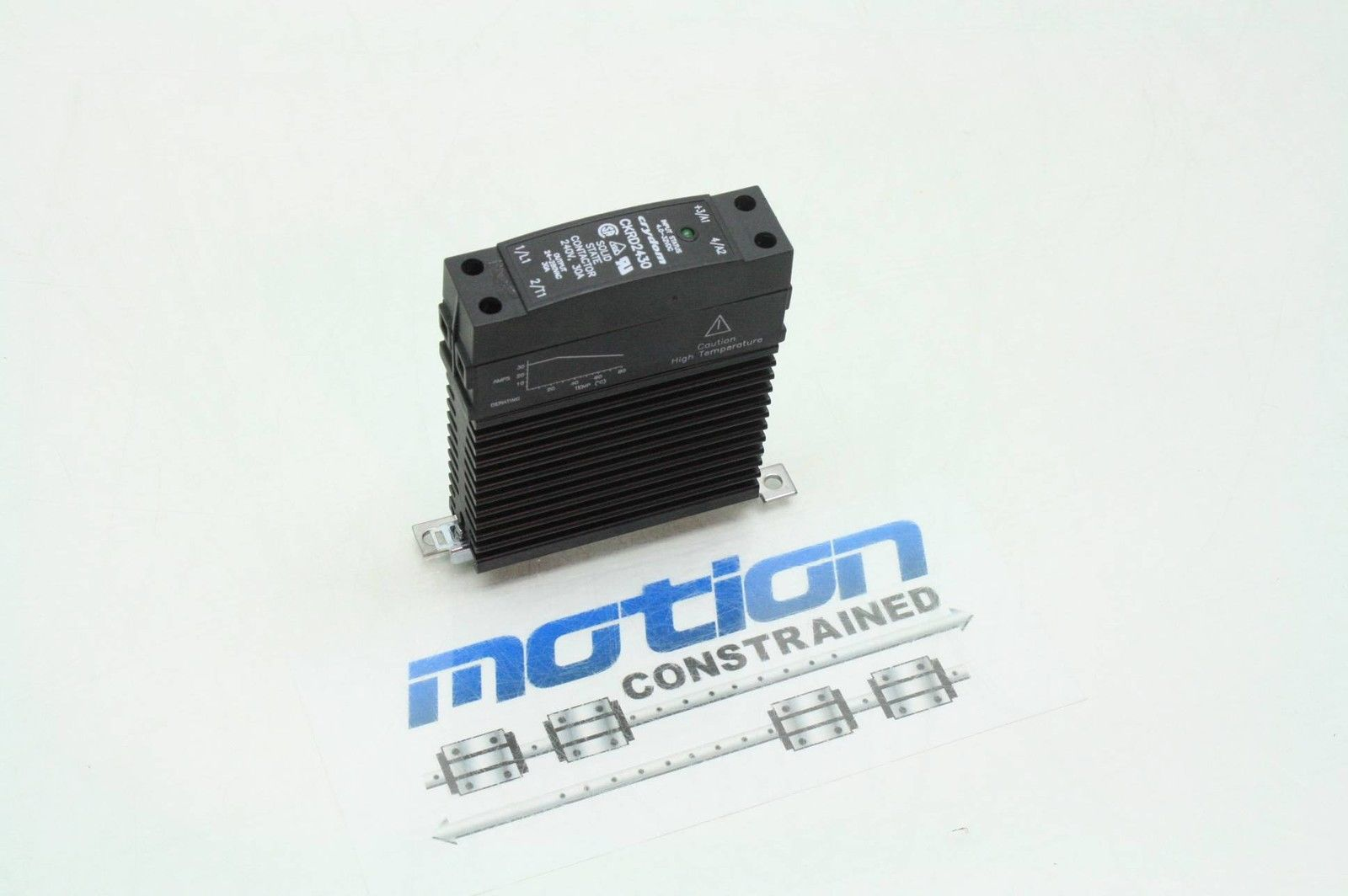Crydom Solid State Relay Ckrd2430 240v 30a Used Motion Ac Constrained Surplus