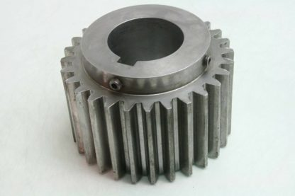 Illinois Gear 141103 01 Steel Timing Pulley 4 Wide 21mm Pitch 3 14 Bore Used 172002079179