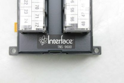 Interface TNS 9600 Vertical 96 Pin SCSI Connector Terminal Block Breakout Board Used 172600794499 5
