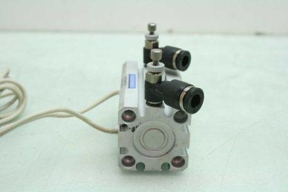 Koganei CDAS20x35 R Pneumatic Jig Air Cylinder 20mm Bore x 35mm Stroke ZE155 Used 172598713719 4