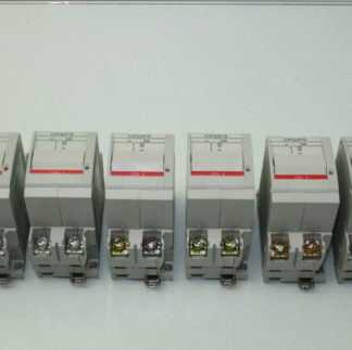 Lot of 6 Fuji CP32FS3 Electric circuit protector AC 3A Trip 2 Pole Used 181016296059