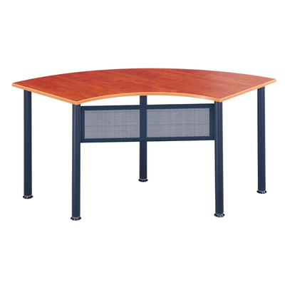 Mayline Encounter Crescent Conference Table 2448CECRYBLK 67L x 24W x 29H New 172597488689 12