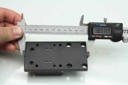 Precision Aluminum 2 50mm Cross Roller Optical Linear Bearing Stage Used 171331974519 20