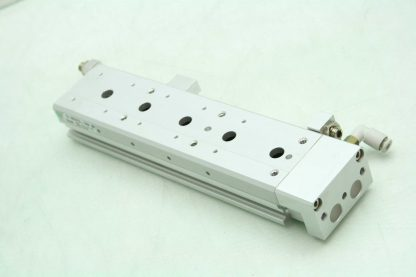 SMC 13 MXS12L 100A Pneumatic Guided Air Cylinder 12mm Bore x 100mm Stroke Used 172266888345 9