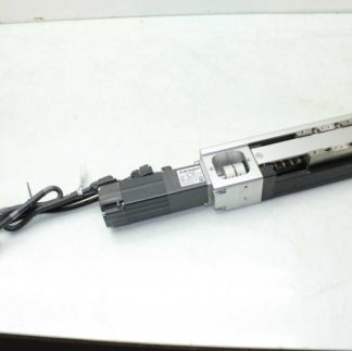 THK CKR3310A 150LP0 270mm Linear Actuator Mitsubishi HF KP13B AC Servo Motor Used 172436783039