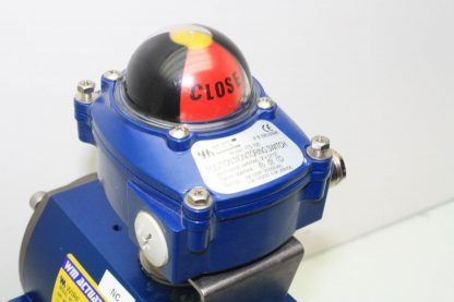 WireMatic AB Actuator WM 12 SR IS0 F05 43 with 2 NPT Stainless Ball Valve Used 181334475868 19